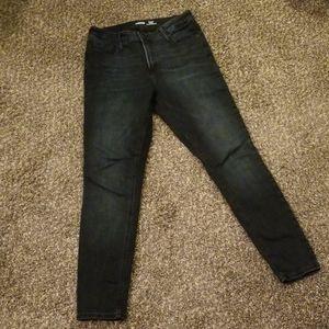 Rockstar Super Skinny High Rise Jeans